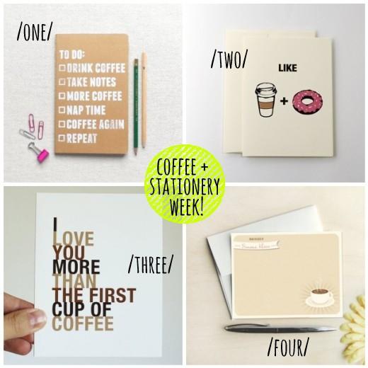 coffee + stationery week