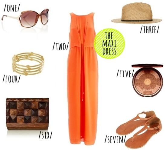 style musings - the maxi dress