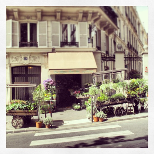 florist - montmartre