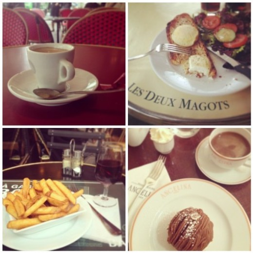 food in paris
