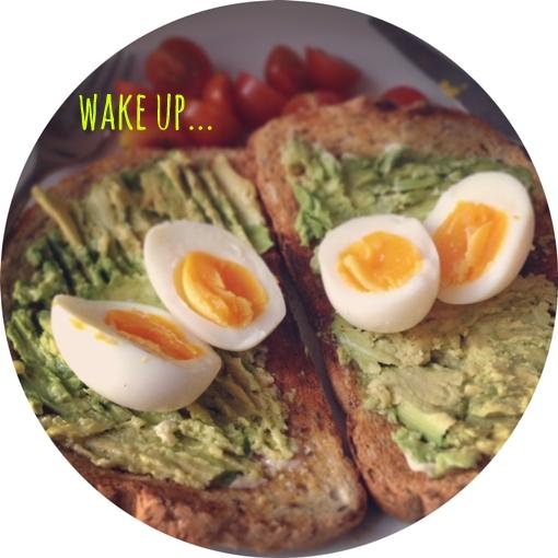 wake up... avocado on toast