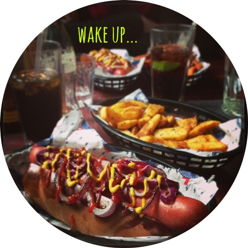 wake up... the diner