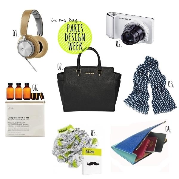 in my bag... parisdesignweek