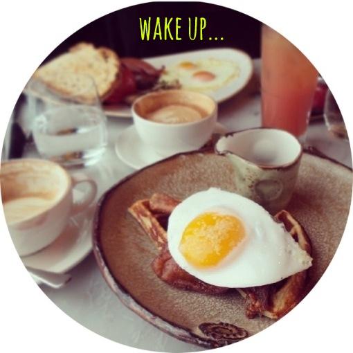 wake up... duck & waffle
