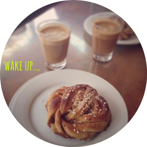 wake up... mean coffee