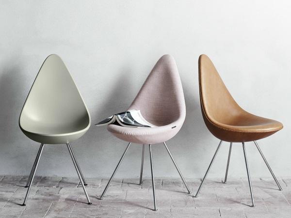 Arne Jacobsen Drop Chair 01