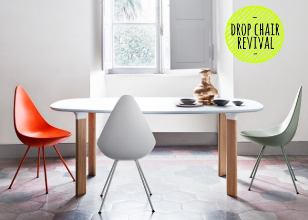 Arne Jacobsen Drop Chair 04