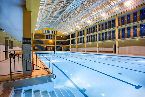 Molitor piscine opens as luxury hotel members club in paris for Piscine molitor swimming pool