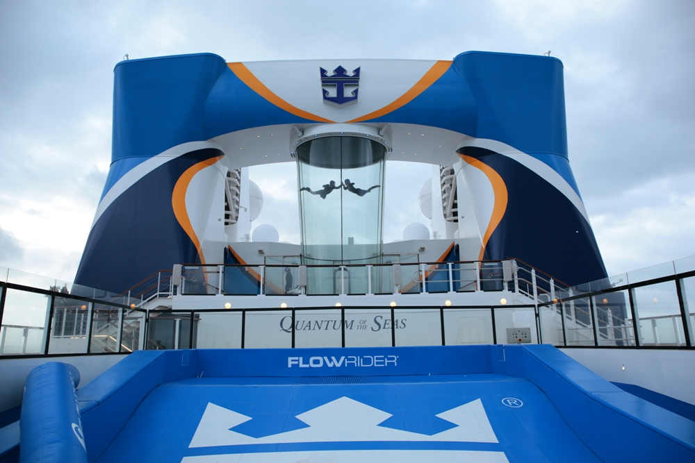 Royal Caribbean Quantum of the Seas Pre-Inaugural Voyage Ripcord iFly 001