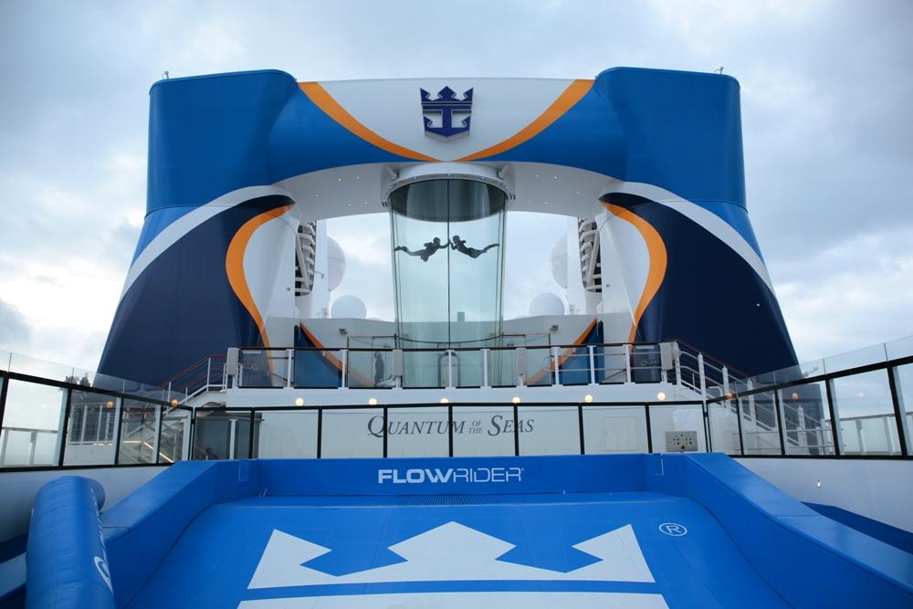 Royal Caribbean Quantum of the Seas Pre-Inaugural Voyage Ripcord iFly 001