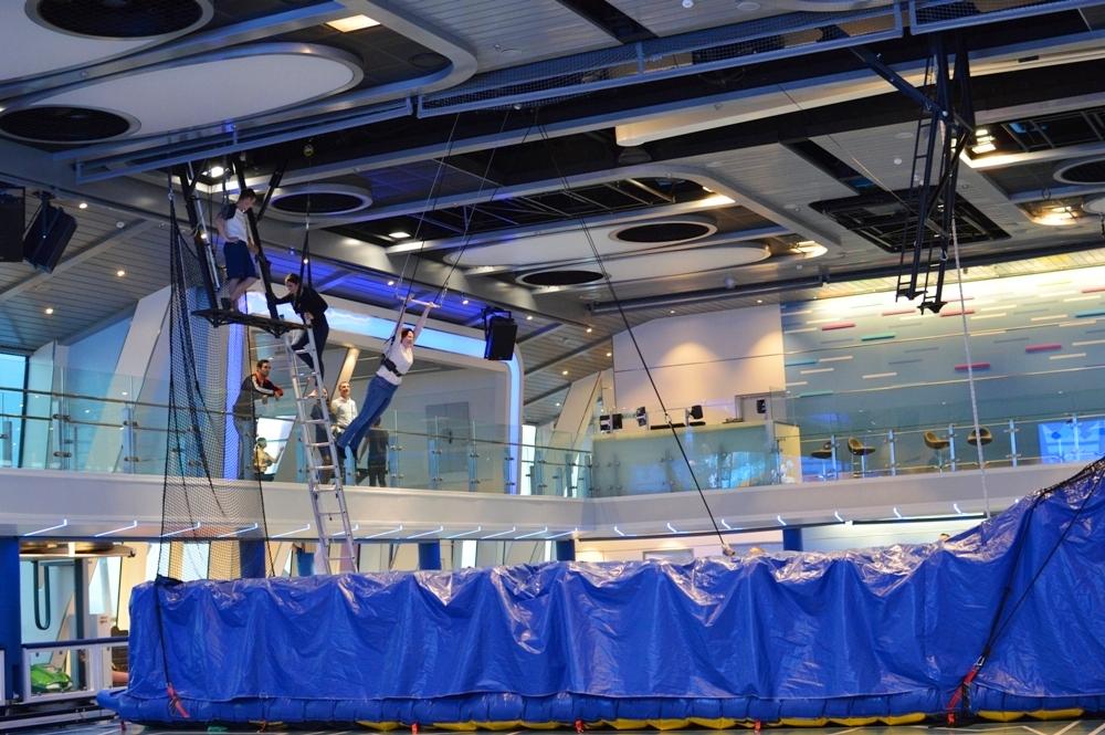 Royal Caribbean Quantum of the Seas Pre-Inaugural Voyage Seaplex 001