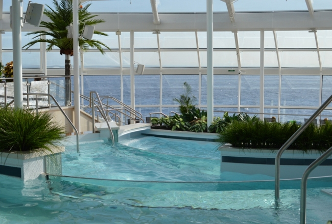 Royal Caribbean Quantum of the Seas Pre-Inaugural Voyage Solarium Slider (2)