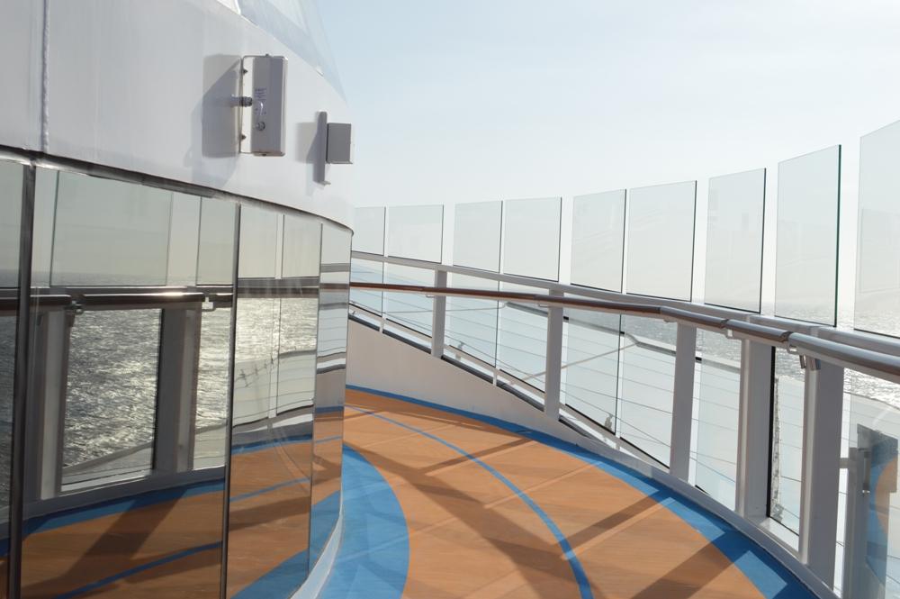 Royal Caribbean Quantum of the Seas Pre-Inaugural Voyage Top Deck 009