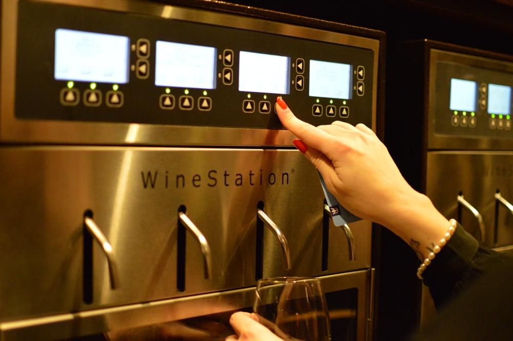 Royal Caribbean Quantum of the Seas Pre-Inaugural Voyage Vintages Self Serve Wine 001