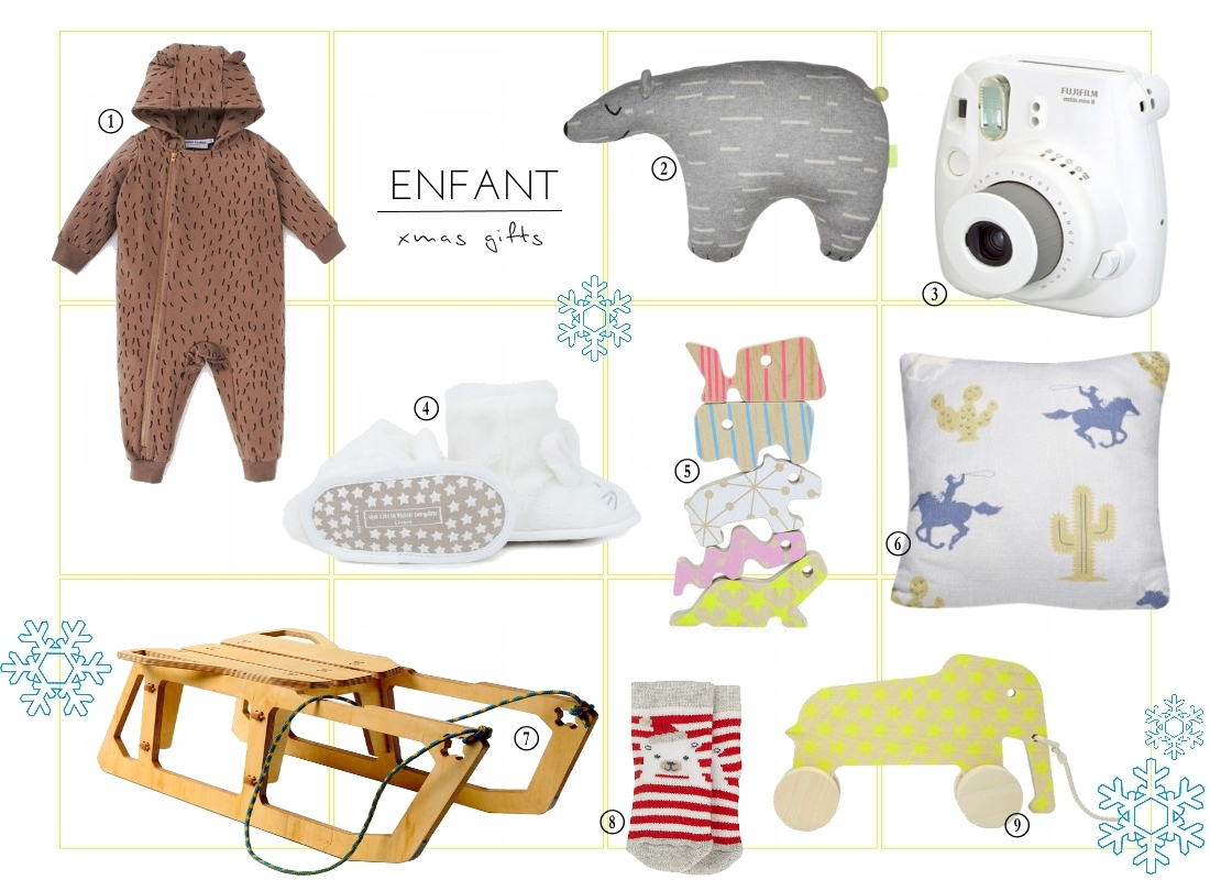 enfant children kids christmas gift guide 2014