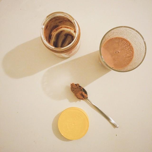 The last spoonful... #lotusbiscoff