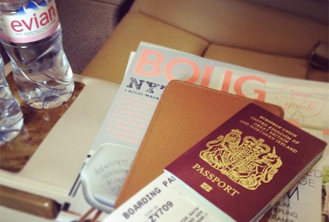 transatlantic flight essentials slider