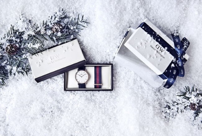 Daniel Wellington Christmas 2014 Slider