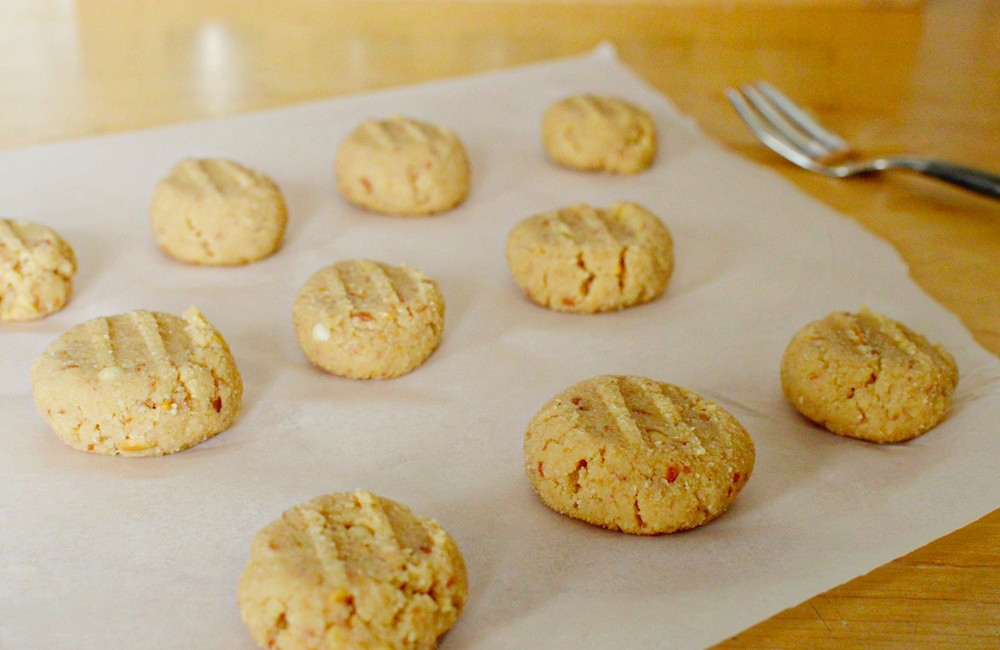 coconut flour peanut butter dairy free cookies 05