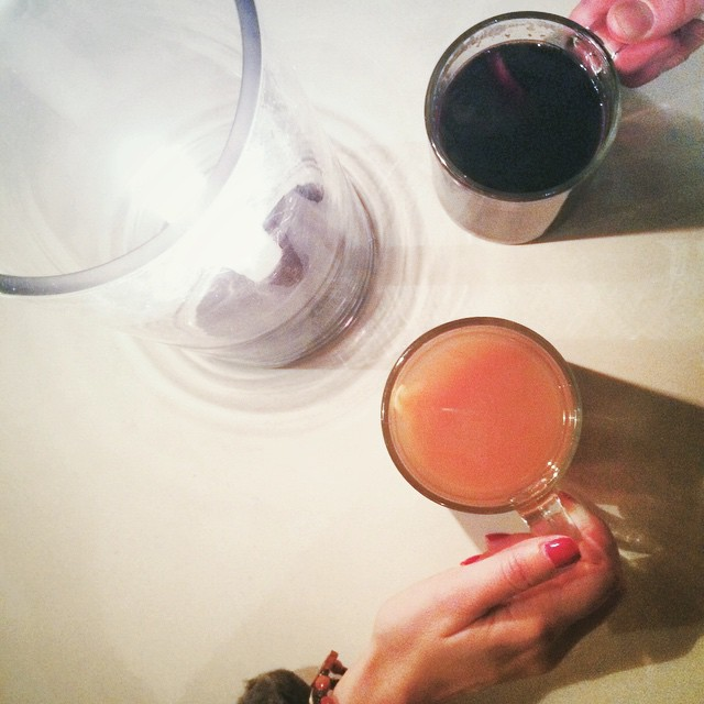 #tbt mulled wine & spiced cider at The Standard Biergarten in NYC last month ?