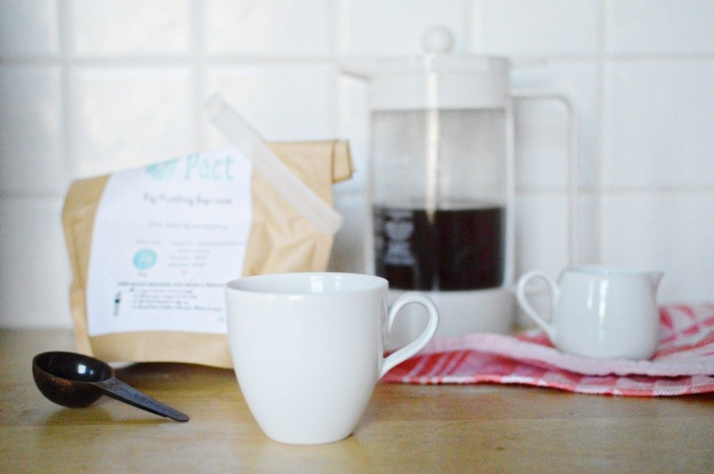 Pact Coffee Fig Pudding Espresso Blend 001