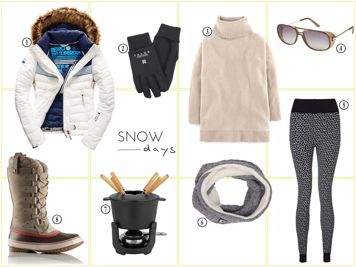 snow and ski lust list