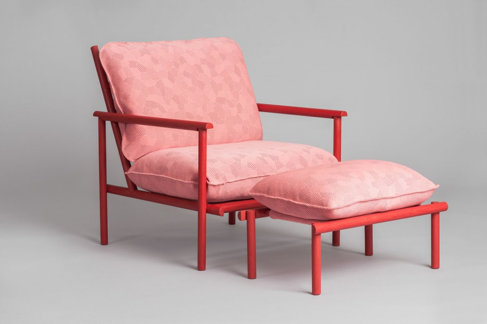 Vera & Kyte Prop-Up armchair
