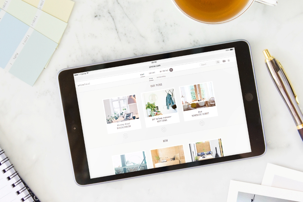 AtMine-Marble-iPad-home