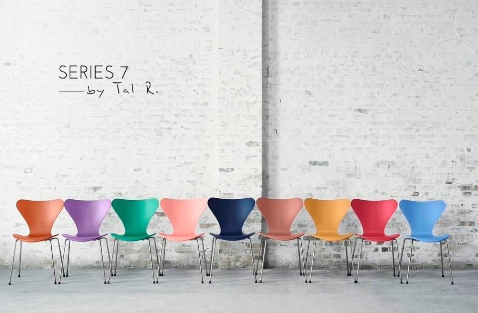 Fritz Hansen Series 7 Tal R Colours 01