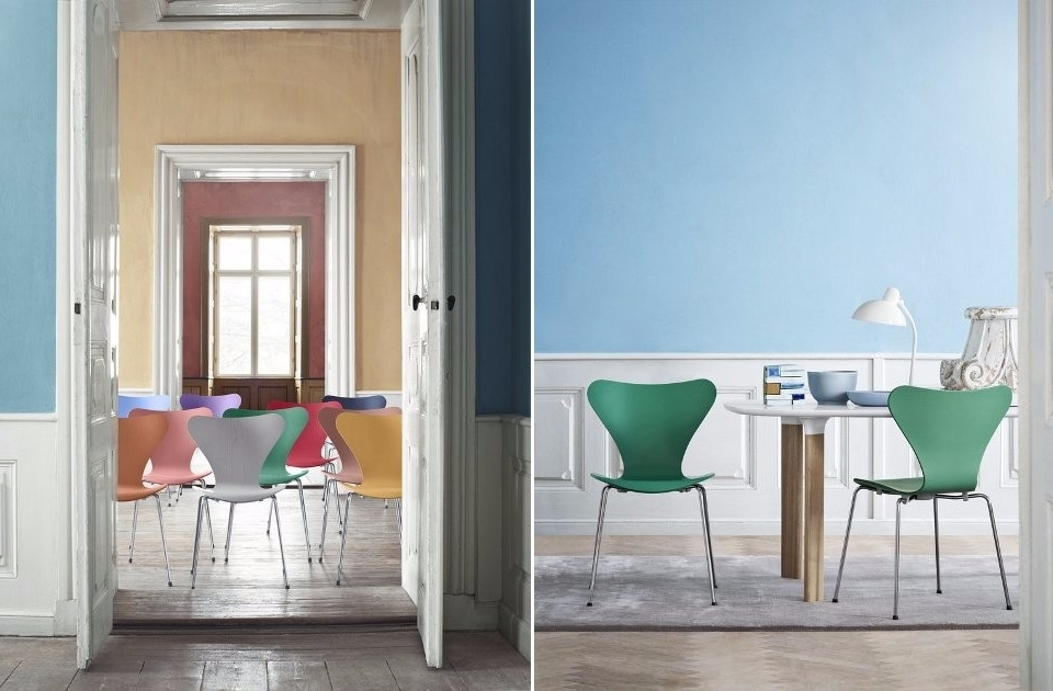 Fritz Hansen Series 7 Tal R Colours 04