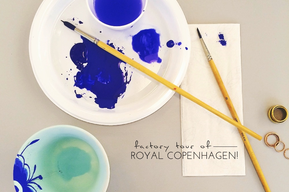 Royal Copenhagen factory tour 01