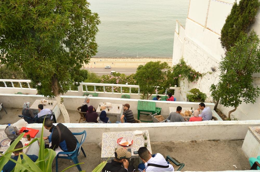 Cafe Hafa Tangier 02
