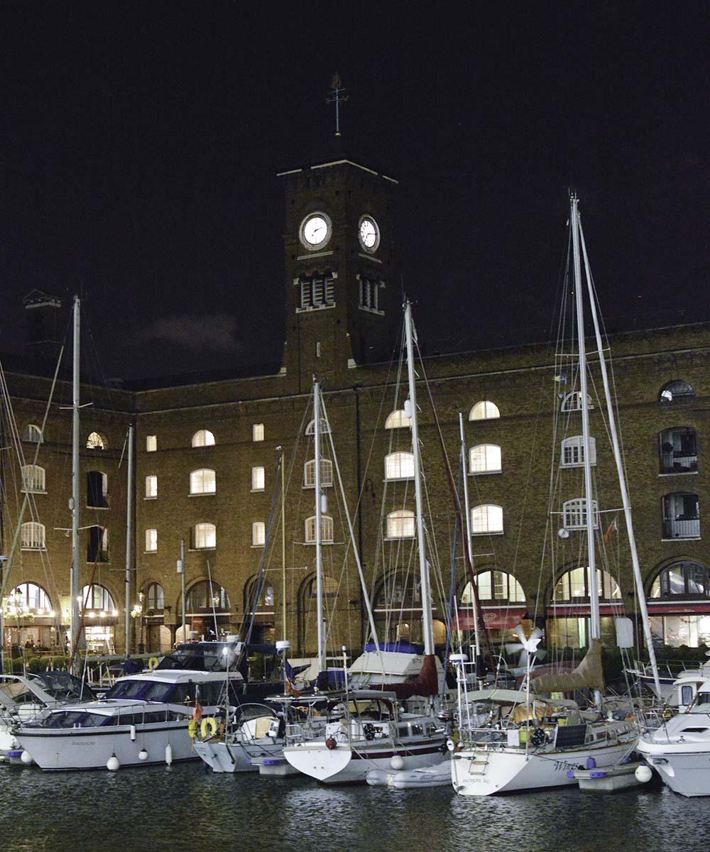 St Katharines Docks London