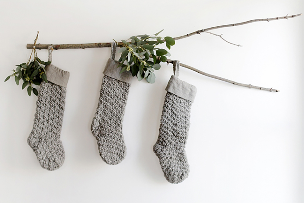 Christmas inspiration stocking display slider