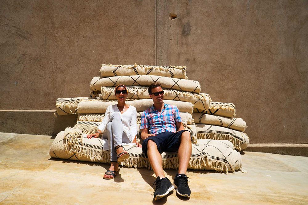 Sukhi Beni Ourain Rugs Morocco 01